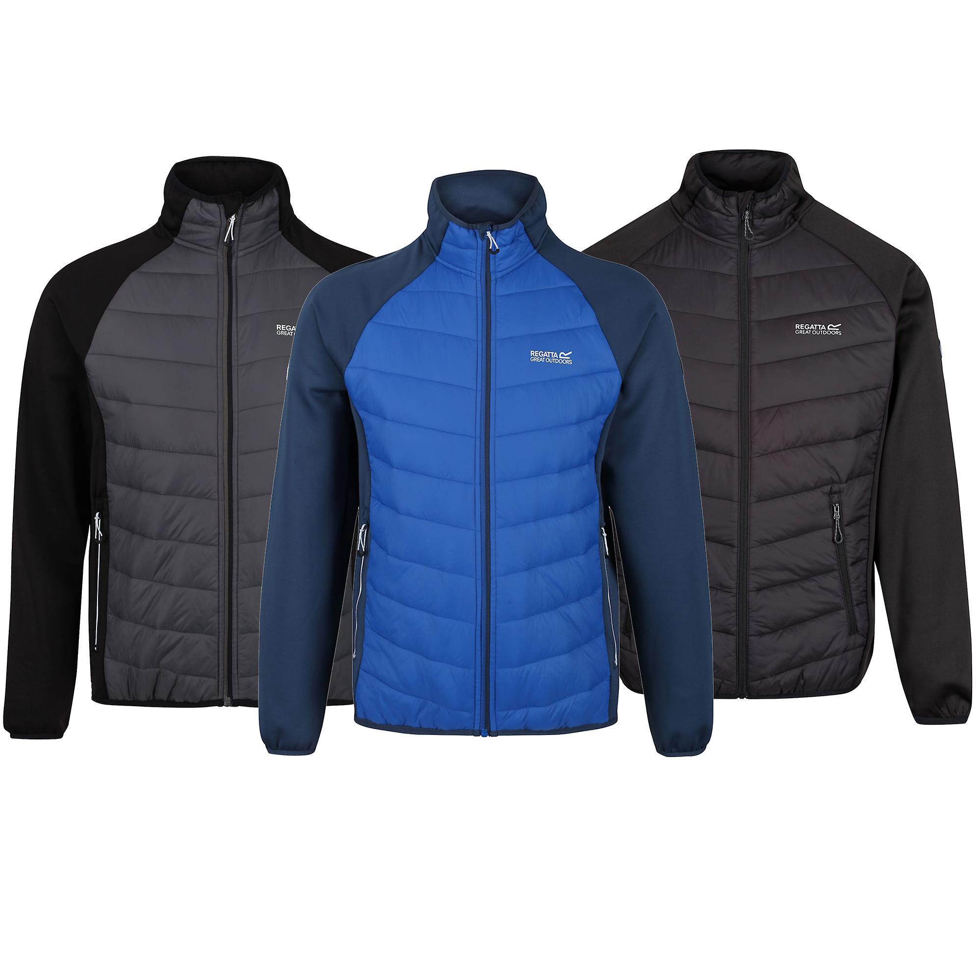 Dark Denim//Nautical Blue XXXL Regatta Mens Bestla Hybrid Jacket