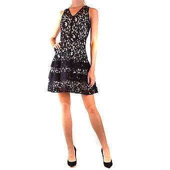 Michael By Michael Kors Ezbc063113 Women's Black Viscose Dress