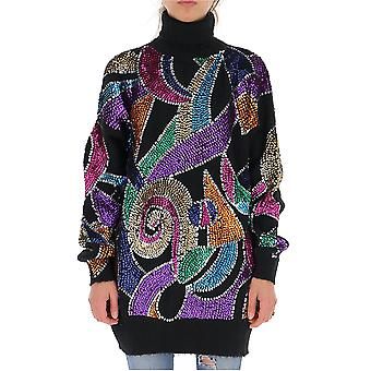 Amen Amw19901009 Femmes-apos;s Multicolor Nylon Sweater