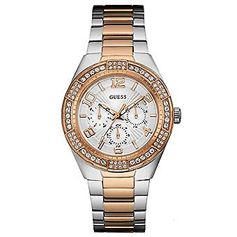 Guess W0729L4-wrist watch for women, stainless steel, color: multi