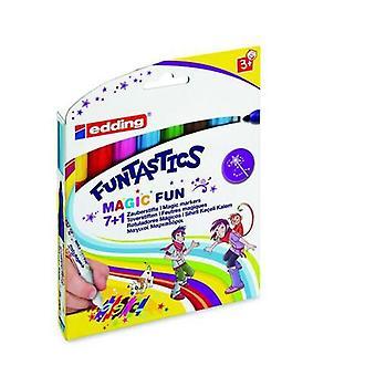 edding-13 Funtastics Magic Fun assorti 8 Farben 4-13-8
