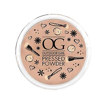 Outdoor Girl Pressed Powder Compact 9g ~ Fair