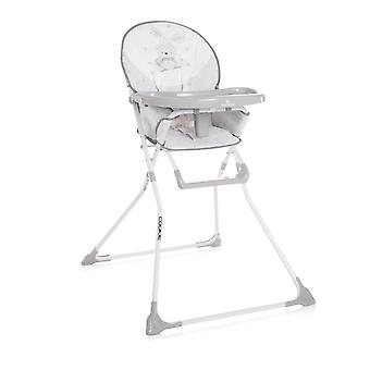Lorelli children's high chair cookie, cup recess, washable fabric, foldable