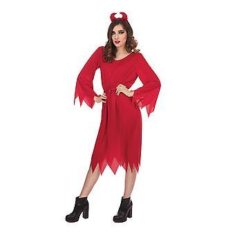 Bristol Neuheit Frauen/Damen elegante Teufel Halloween Kleid
