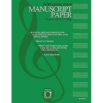 HOUSE OF JOY MUSIC DELUXE 10STAFF MANUSCRIPT PAPER by JOY & KEN