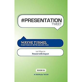 Presentation Tweet Book01 140 Ways to Present with Impact by Turmel & Wayne