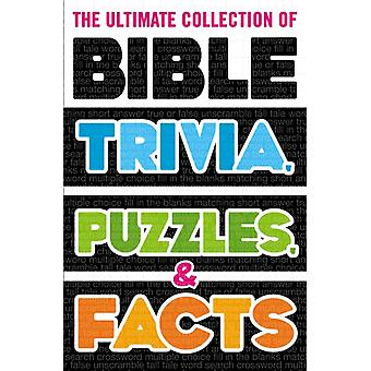 Ultimate Collection of Bible Trivia Puzzles and Facts