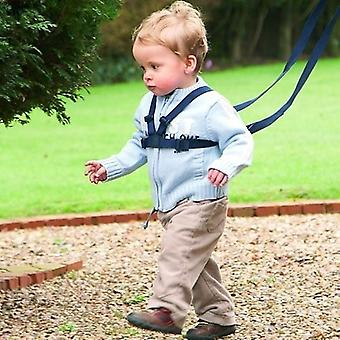 Walking Harness And Reins - Black - Safe Walking For Toddlers And Little Explorers !