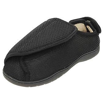 JWF unisexe Extra Wide Fit fermé orteils chaussure de pantoufles