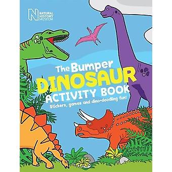 The Bumper Dinosaur Activity Book - Stickers - games and dino-doodling