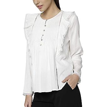 Only Women's Top With Pleats