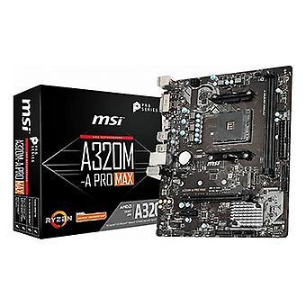 Motherboard MSI A320M-A Pro Max mATX DDR4 AM4