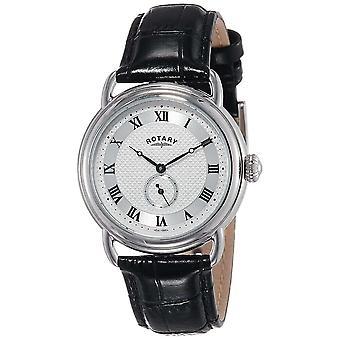 الروتاري GS02424-21 الرجال & أبوس؛ق كانتربري اللباس ساعة اليد
