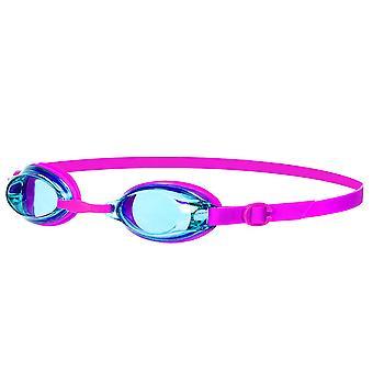 Speedo Jet UV Anti nebbia nuoto (6-14 anni), Junior Kids rosa/turchese