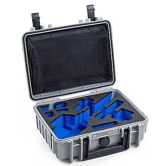 B&W Gimbal Case Type 1000 pour FEIYU G5 / G4 / G4S / G3, Gris Avec insert en mousse