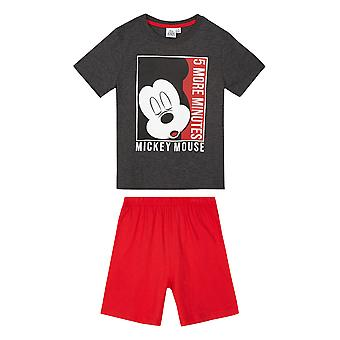 Disney mickey boys pyjama short sleeve