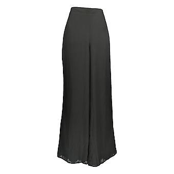 Masseys Women's Asymmetric Pants w/Sleeveless Top Set White/Black