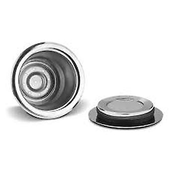 Refillable Coffee Capsules & Reusable Pods – Compatible With Nespresso,