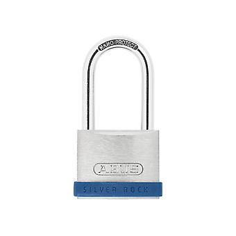 ABUS 40mm Silver Rock 5 Padlock Long Shackle 40mm ABU540LS40C