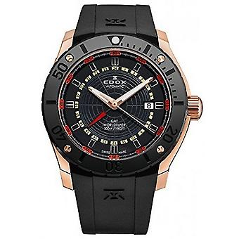 Edox Watches Class-1 Men's Watch GMT Worldtimer 93005 37R NOJ