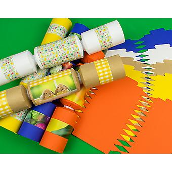 10 Assorted Easter Make & Fill Your Own DIY Recyclable Cracker Craft Kit