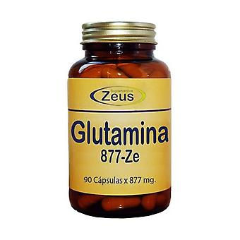 L-Glutamine 877-Ze 90 capsules of 877mg