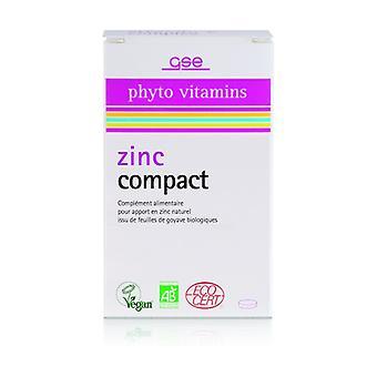 ORGANIC compact zinc 60 tablets