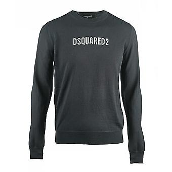 Dsquared2 Box Logo tricô Preto Jumper