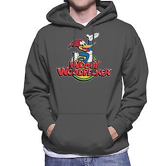 Woody Woodpecker Classic Logo Men's Sudadera con capucha