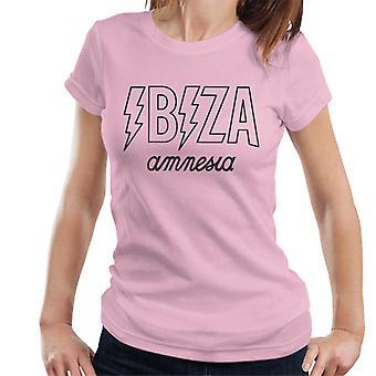 Amnesia Ibiza Lightning bolt-T-shirt til kvinder