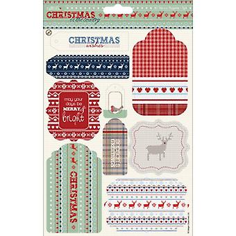 Papermania Christmas in The Country A5 Die-Cut Toppers, 2-Pack