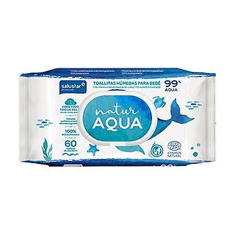Natur Aqua Baby Wipes 60 units
