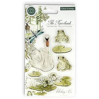 Craft Consortium Clear Stamps - The Riverbank