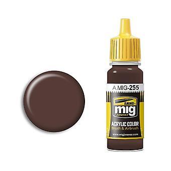 Ammo by Mig Acrylic Paint - A.MIG-0255 RLM81 Braunviolett (17ml)