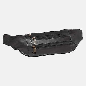 Primehide Lederen Bumbag Vrouwen RFID Blokkeren Taille Security Travel Bag 106