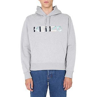 Kenzo Fa65sw30444mo94 Men's Grey Cotton Sweatshirt