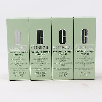 Clinique Moisture Surge Intense 72H Lipid-Replenishing Hydrator (Pack Of 4) New
