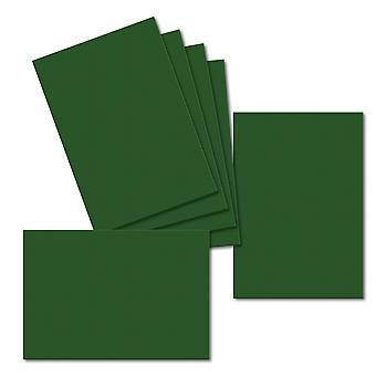 Deep Green. 115mm x 165mm. Carte de voeux. 235gsm Feuille de carte.