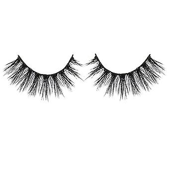 Bliss False Eyelashes - #122 / Black - Elegant 3D Effect Luscious Lashes