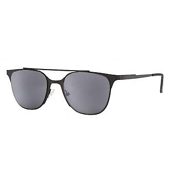 "Sunglasses Unisex Cat.3 black smoke/black (""amu19204b"")"