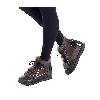 Xti - Shoes - Ankle boots - 48288_BRONZE - Ladies - saddlebrown,goldenrod - EU 36