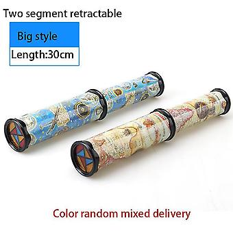 Scalable Rotation Kaleidoscope Adjustable-Fancy-Colored Puzzel Toy for Children