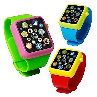 Early Education 3d Touchscreen Musik Smart Watch Abs Armbanduhr Spielzeug