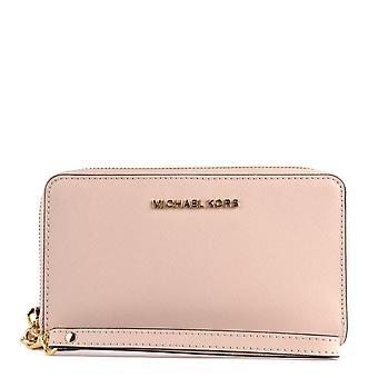 MICHAEL Michael Kors Jet Set Travel Smartphone Wristlet Soft Pink