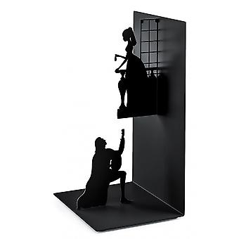 Bookend Romeo & Julia 17 cm Metall schwarz
