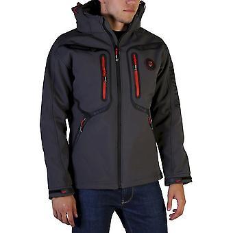 Geographical Norway - Clothing - Jackets - Tinin_man_darkgrey - Men - dimgray,red - XL