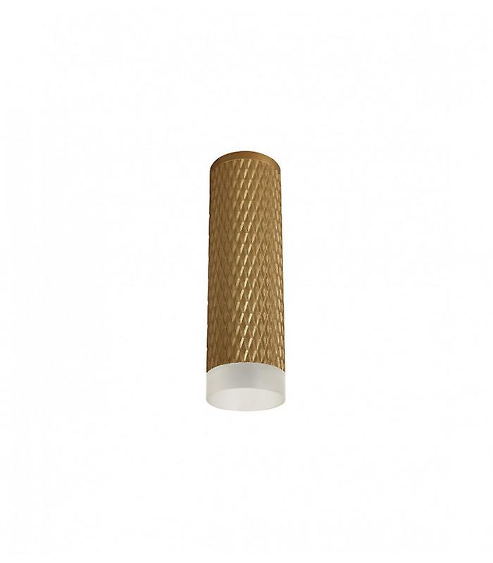 Surface Mounted Ceiling Lamp Isabel 1 Bulb Champagne Golden 30.5 Cm