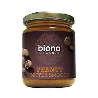Biona - Organic Smooth Peanut Butter 250g