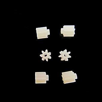 7 tanden, 0,75mm Shaft Hole Gears
