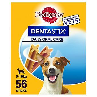 56 Pedigree Daily Dentastix Dental Dog Treats Small Dog Chews Teeth Cleaning